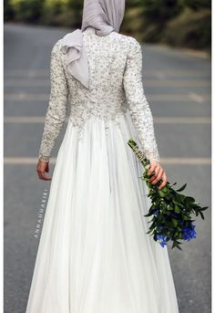 cb8900161e003 Nabila Modest Dress in 2019 | wedding dress | Wedding dresses, Hijab ...