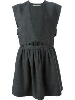 open front dress $811 #farfetch #want #DesigerClothing