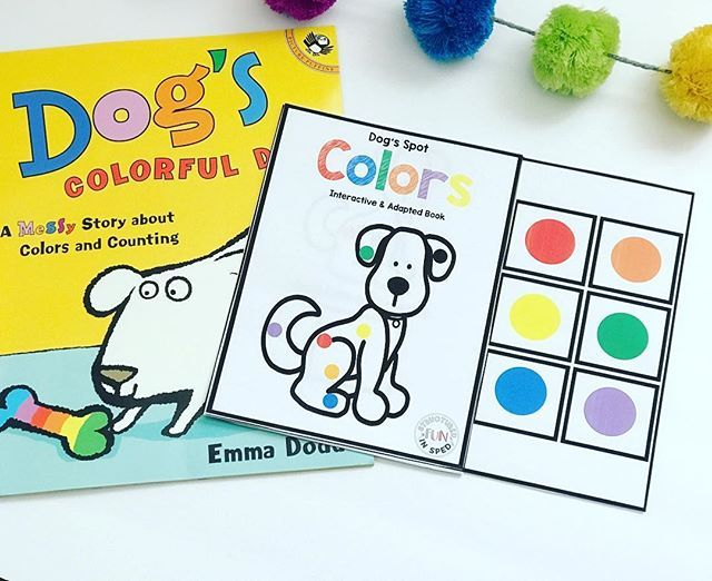 Dog S Colorful Day By Emma Dodd Is Such A Fun Read Aloud With