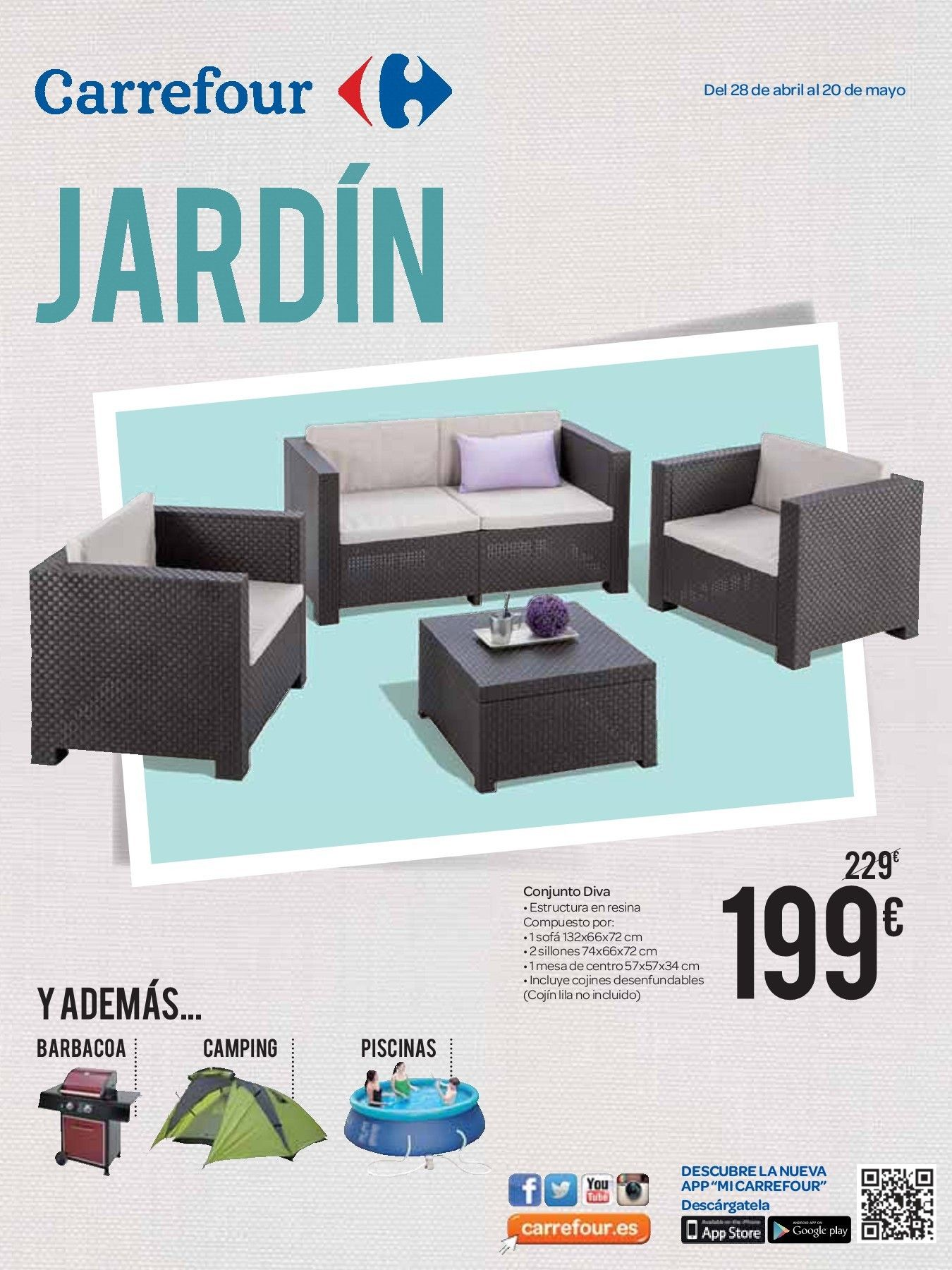 Carrefour Online Muebles Jardin 2020 Di 2020