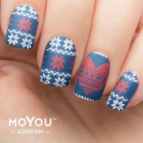 moyoulondon  festive 04  nail art designs images nail