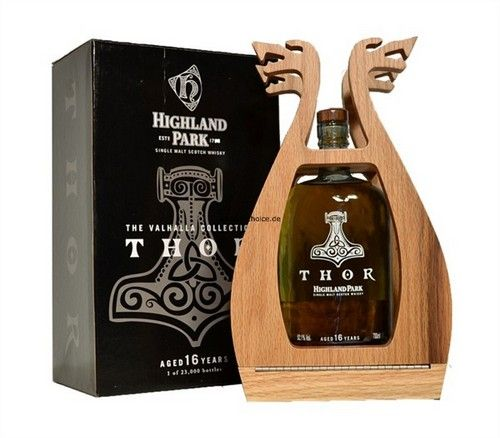 Whisky Highland Park: limited edition Thor collection Valhalla