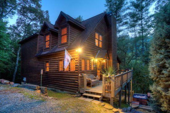 Search All Area North Georgia Rental Cabins Blue Sky