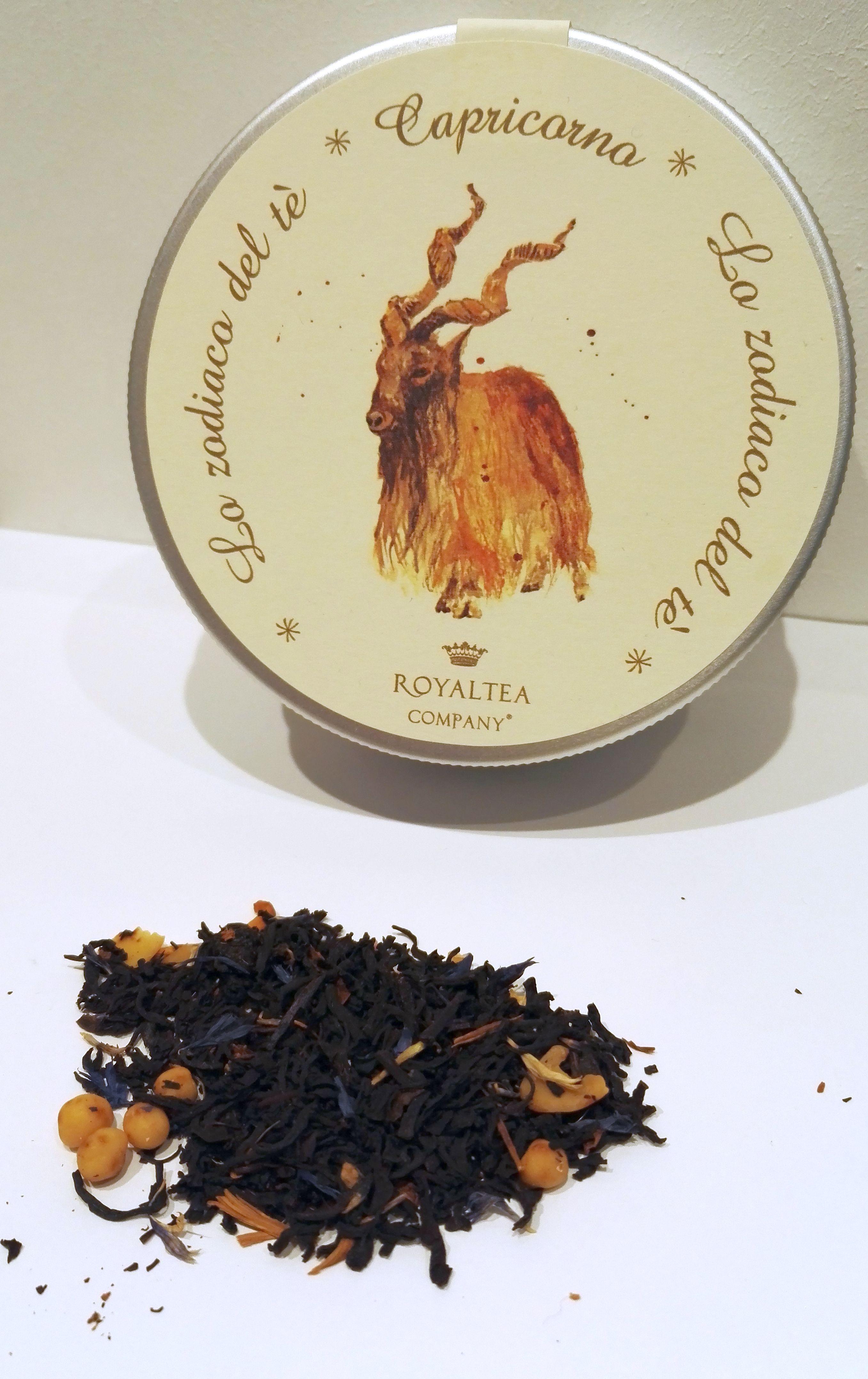 Sono i giorni del capricorno, il più sperimentatore dello zodiaco, possiamo gustare un superbo tè nero Assam con prugne, mandorle e vaniglia by #royalteacompany.  #dulcipedia