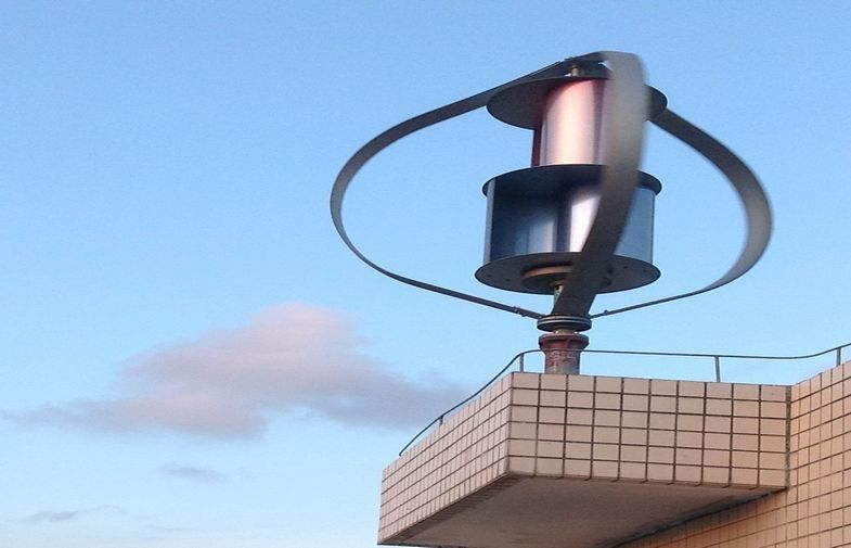 China Residential Rooftop Maglev Wind Turbine 400w 600w No Noisy