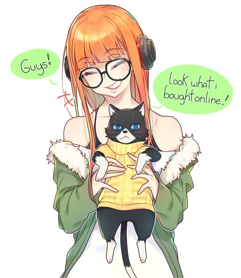 Persona 5 Futaba & Morgana