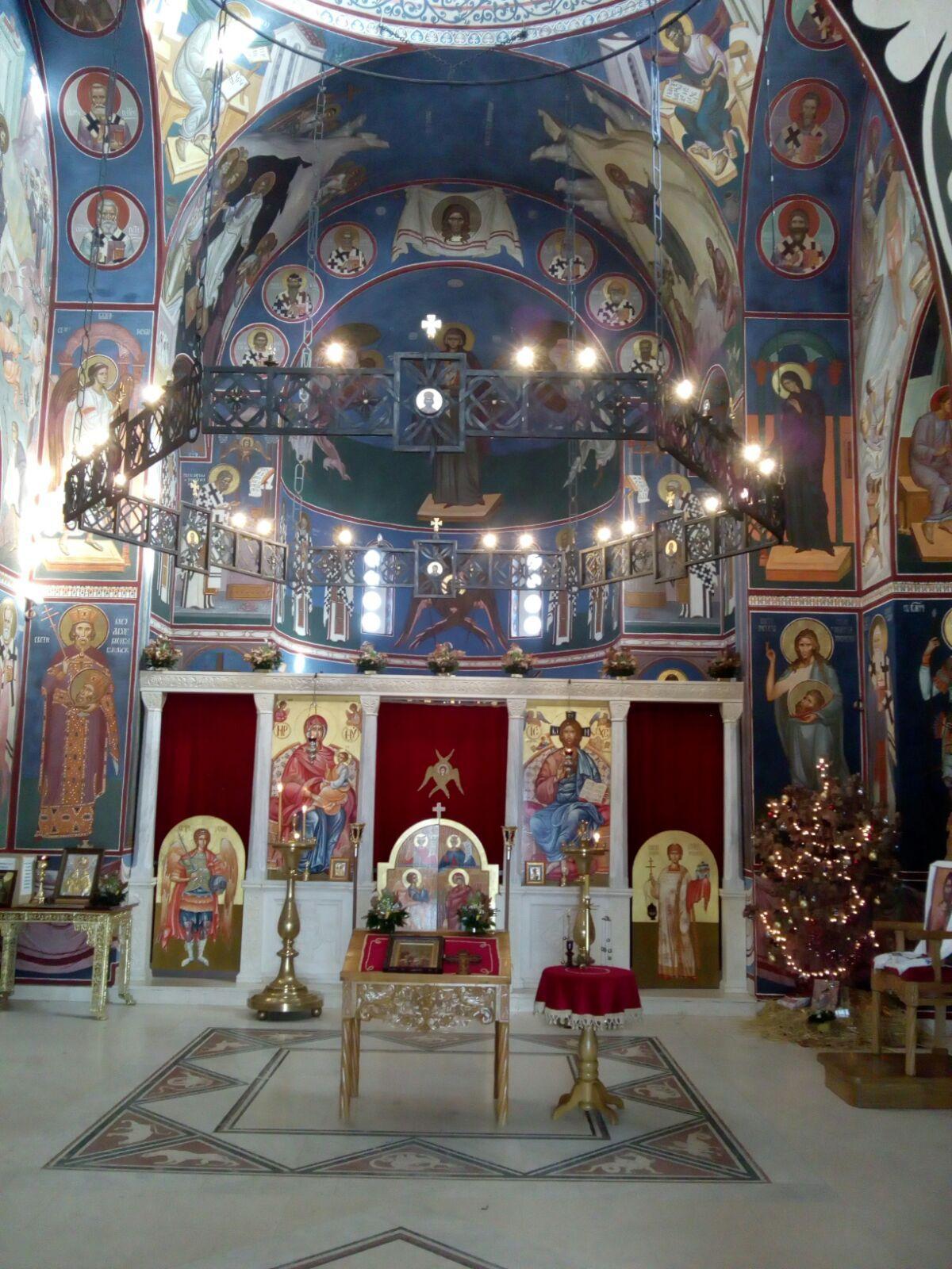 Crkva Svetog Kneza Lazara Ljubic Cacak Cacak Ortodoxy Church Church Cak Fair Grounds