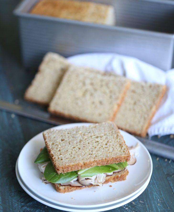 Gluten Free Sandwich Bread Recipe With Oats Recipe