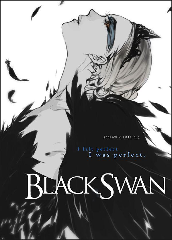 A Gorgeous Black Swan Poster