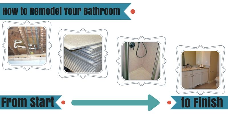 Delicieux How To Remodel A Bathroom From Start To Finish