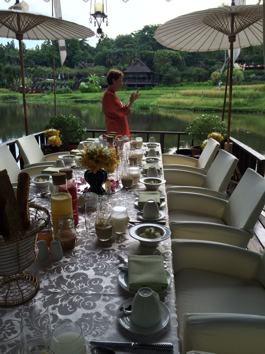Our French Breakfast In The Rice Barn Four Seasons Chiang Mai My