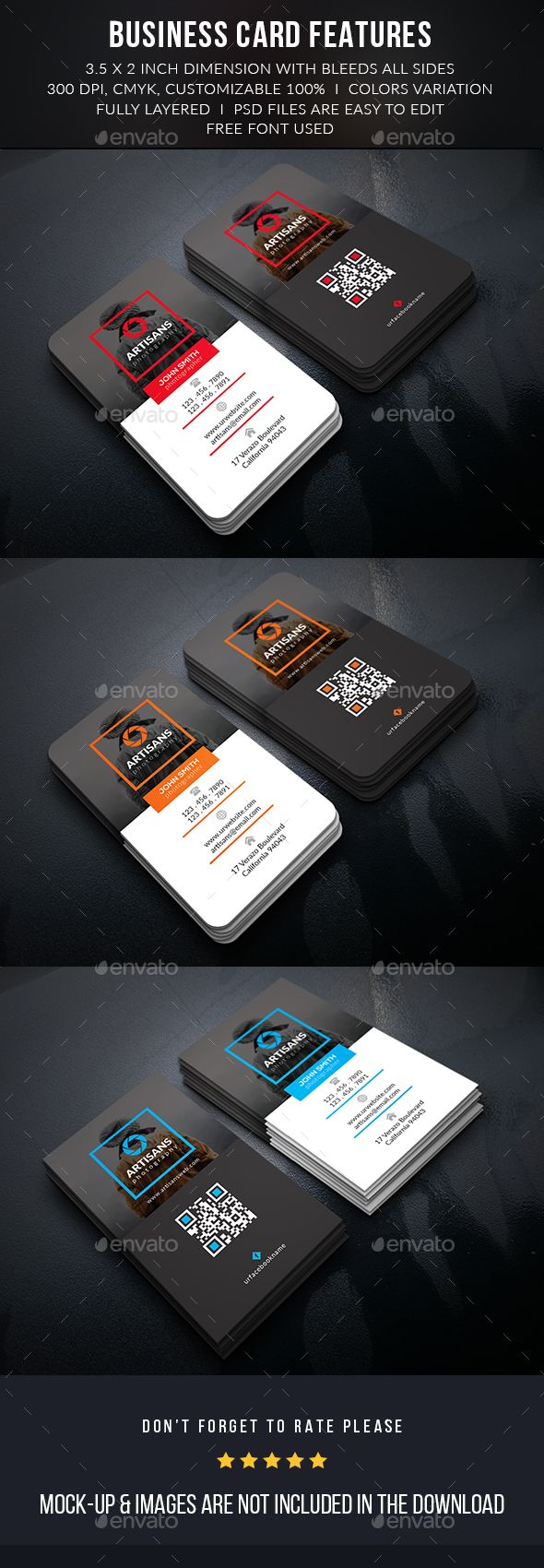 Creative Photographer Business Card | Photographer business cards ...