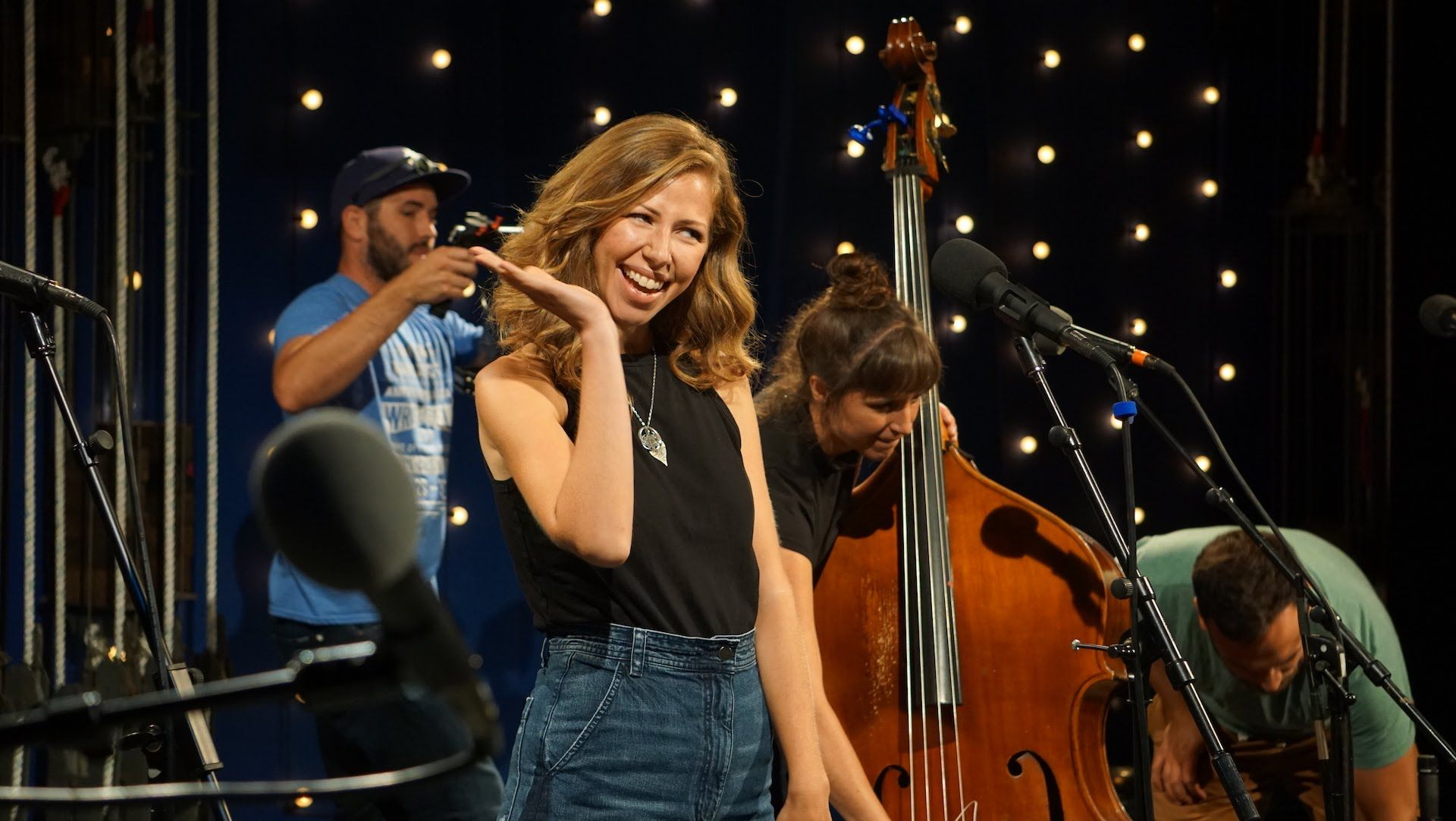 Brooklyn Ny Band Lake Street Dive Performs Three Songs And Is Interviewed By Music Legends Lake Songs