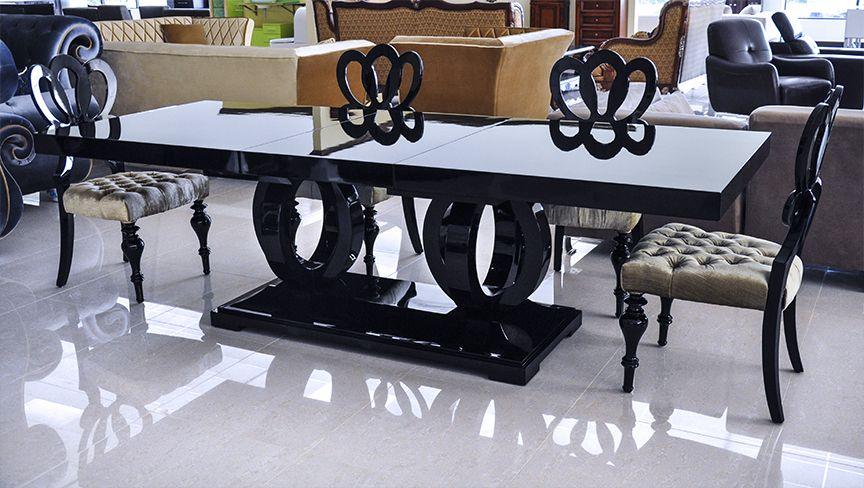 HIGH GLOSS DINING TABLE   BLACK | Dinner Is Served | Pinterest | High Gloss Part 74