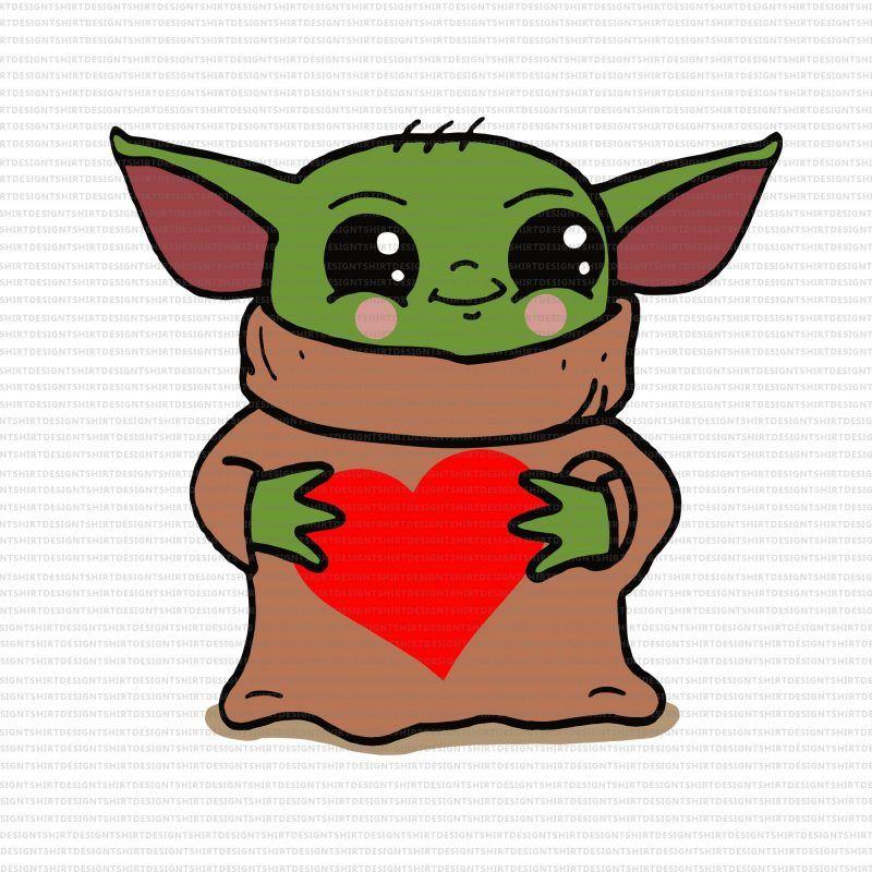 Baby Yoda Valentine Svg Baby Yoda Heart Svg Baby Yoda Heart Png Baby Yoda Heart Baby Yoda Valentines Png Happy Valentine S Day Png Happy Valentine S Day Baby Yo Yoda Canvas Yoda Png Love Png