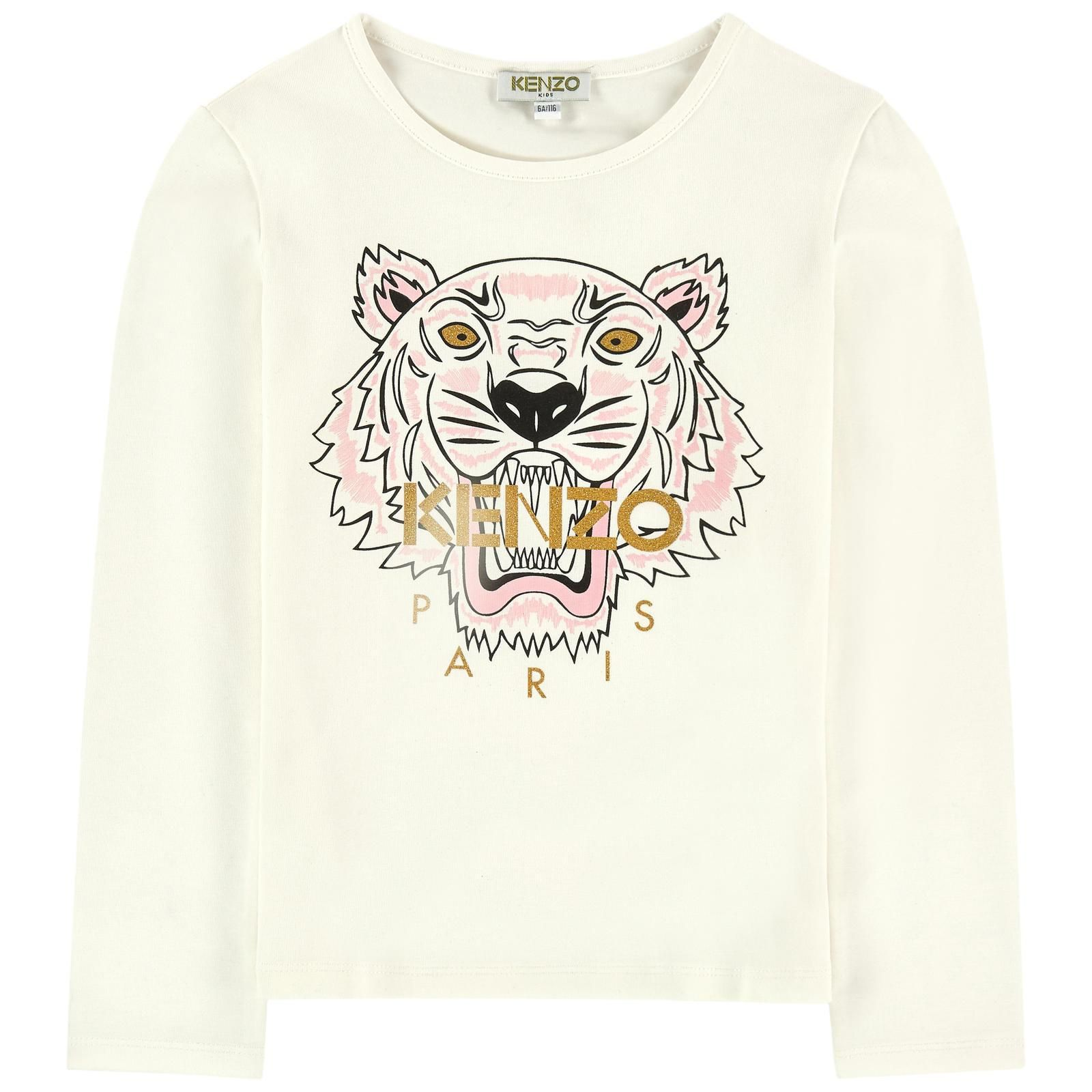 Tiger 2 Longsleeve T Shirt Ecru in 2019 | Products | Tiger