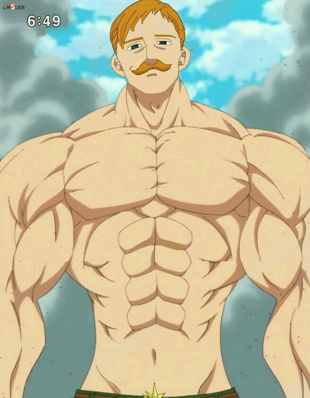 Escanor Escanor Personagens De Anime 7 Pecados