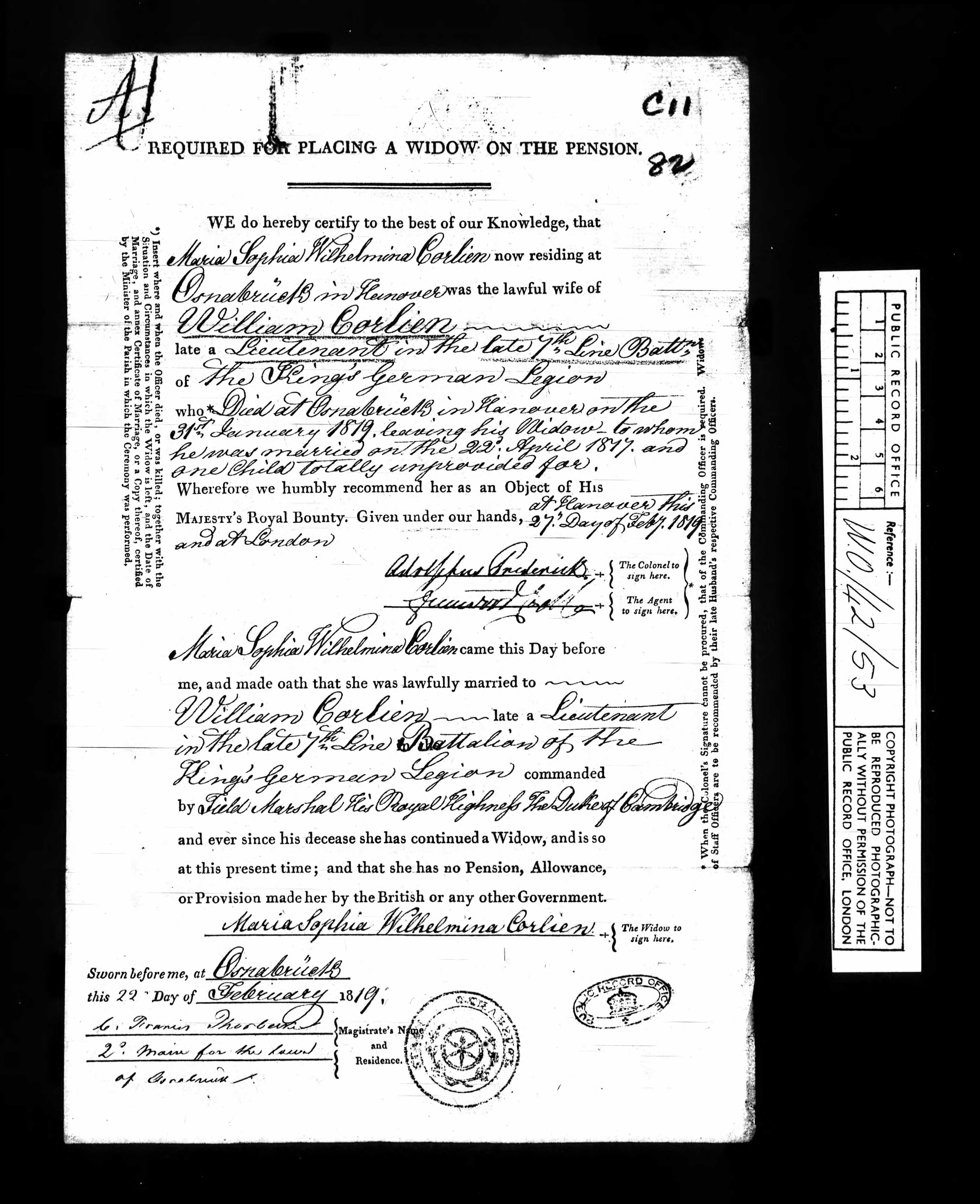 If One Of Your Ancestors Was An Officer Who Served In The King S German Legion And British American Regiments And Who Al Genealogy Resources Ancestor Genealogy