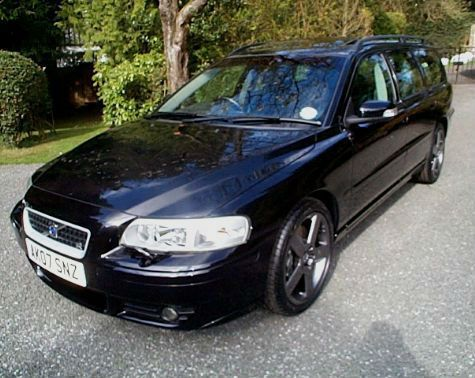 07/07) VOLVO V70 R AWD 2.5 GEARTRONIC MANUAL 6 SD TURBO PETROL ...