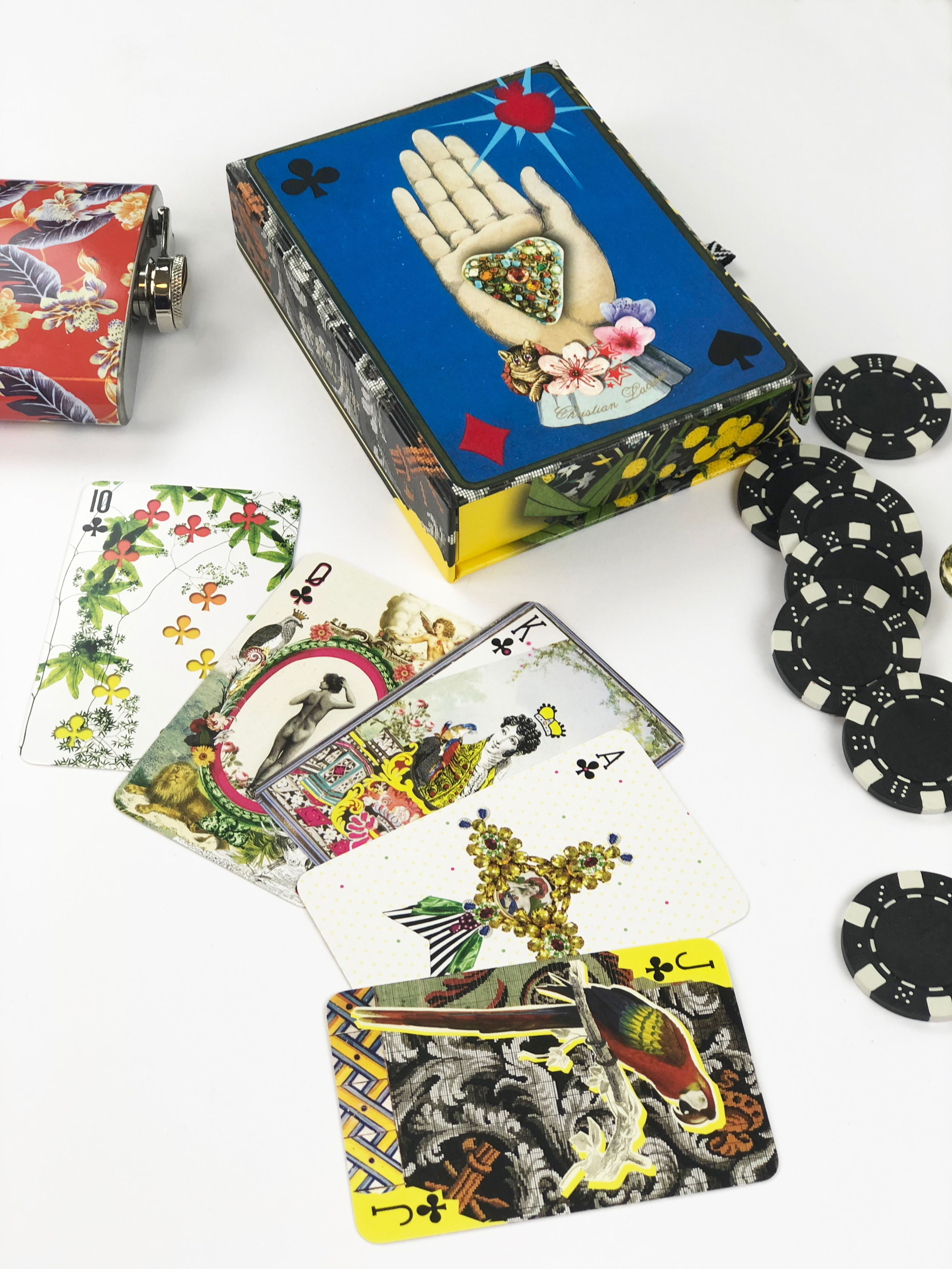 Christian lacroix playing cards by galison available