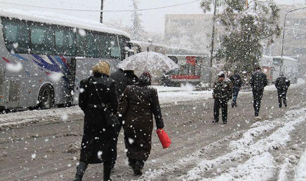 ثلج من القنيطرة سوريا Outdoor My Home Snow