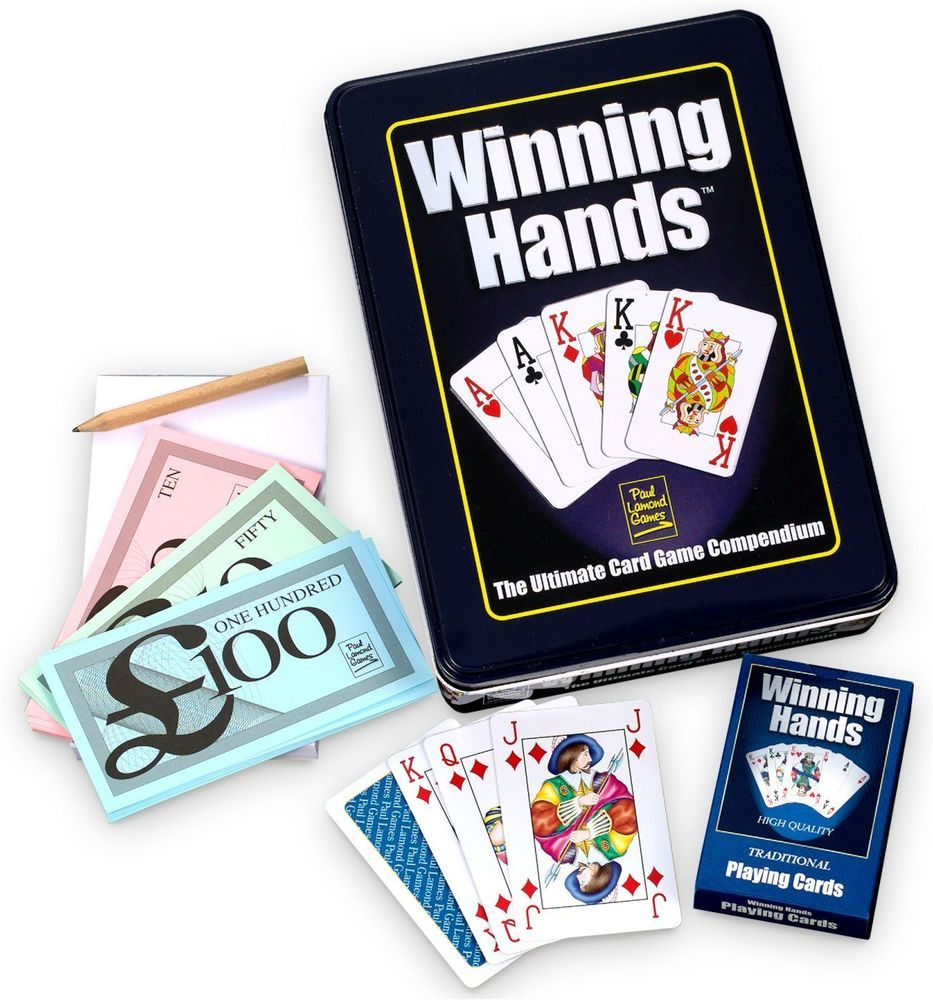 Winning Hands Card Games Compendium 50 Different Games Of