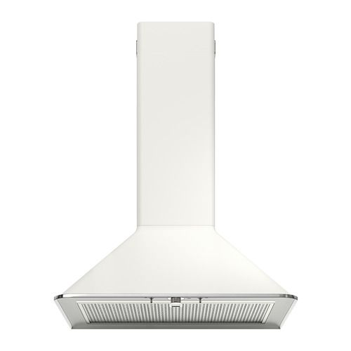 Mattradition Wall Mounted Extractor Hood White 60 Cm Extractor