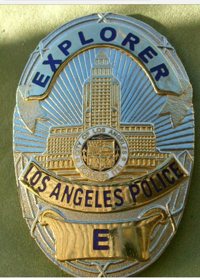 Lapd Badge Image By Keith Tallent On Law Enforcement Patches Police Badge Police