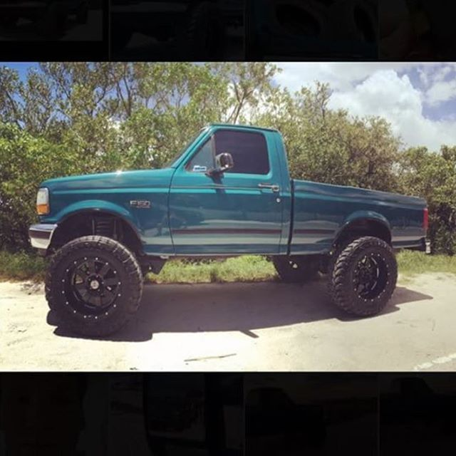 1996 F150 8 Lift On 37 20x12 With 2 Spacers Mikepaschke