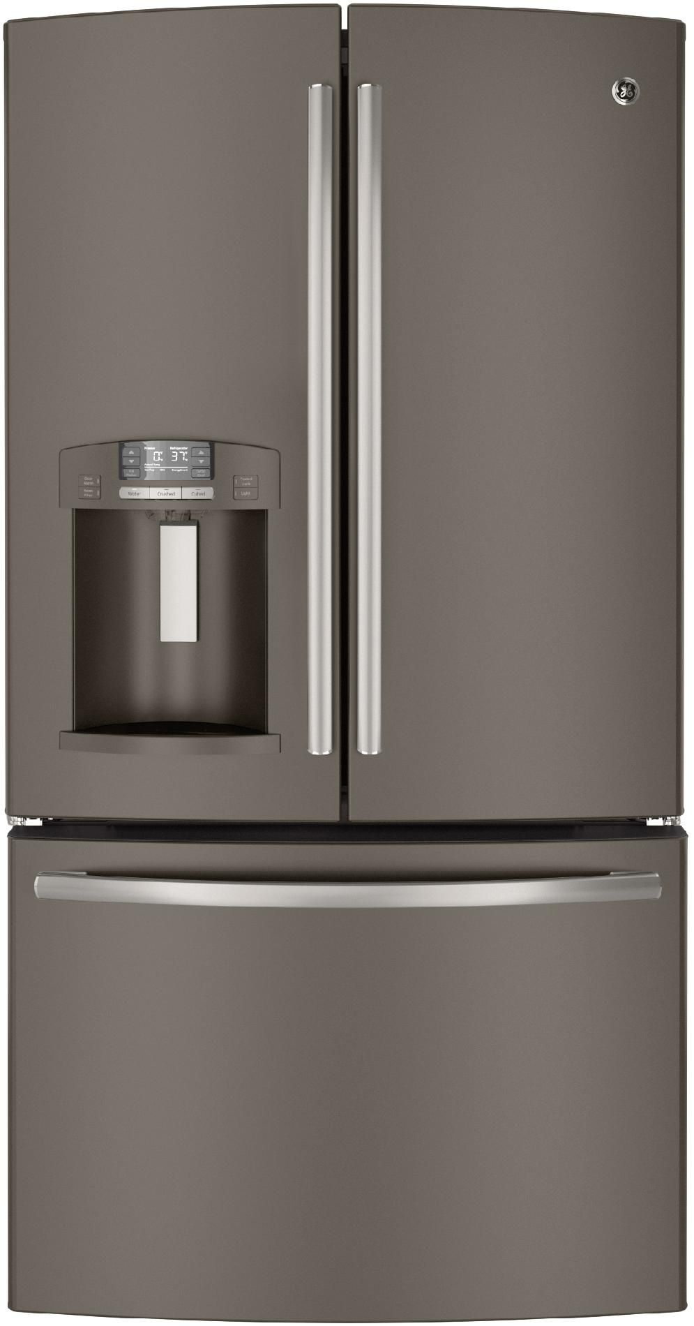 The Spacious 286 Cu Ft Ge Gfe29hmees French Door Refrigerator Is