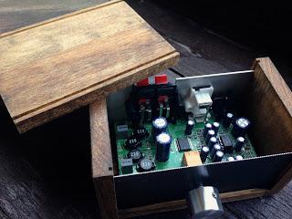 Stereo誌付録 デジタルアンプ Lxa Ot3 用の自作ケース アンプ ケース 自作