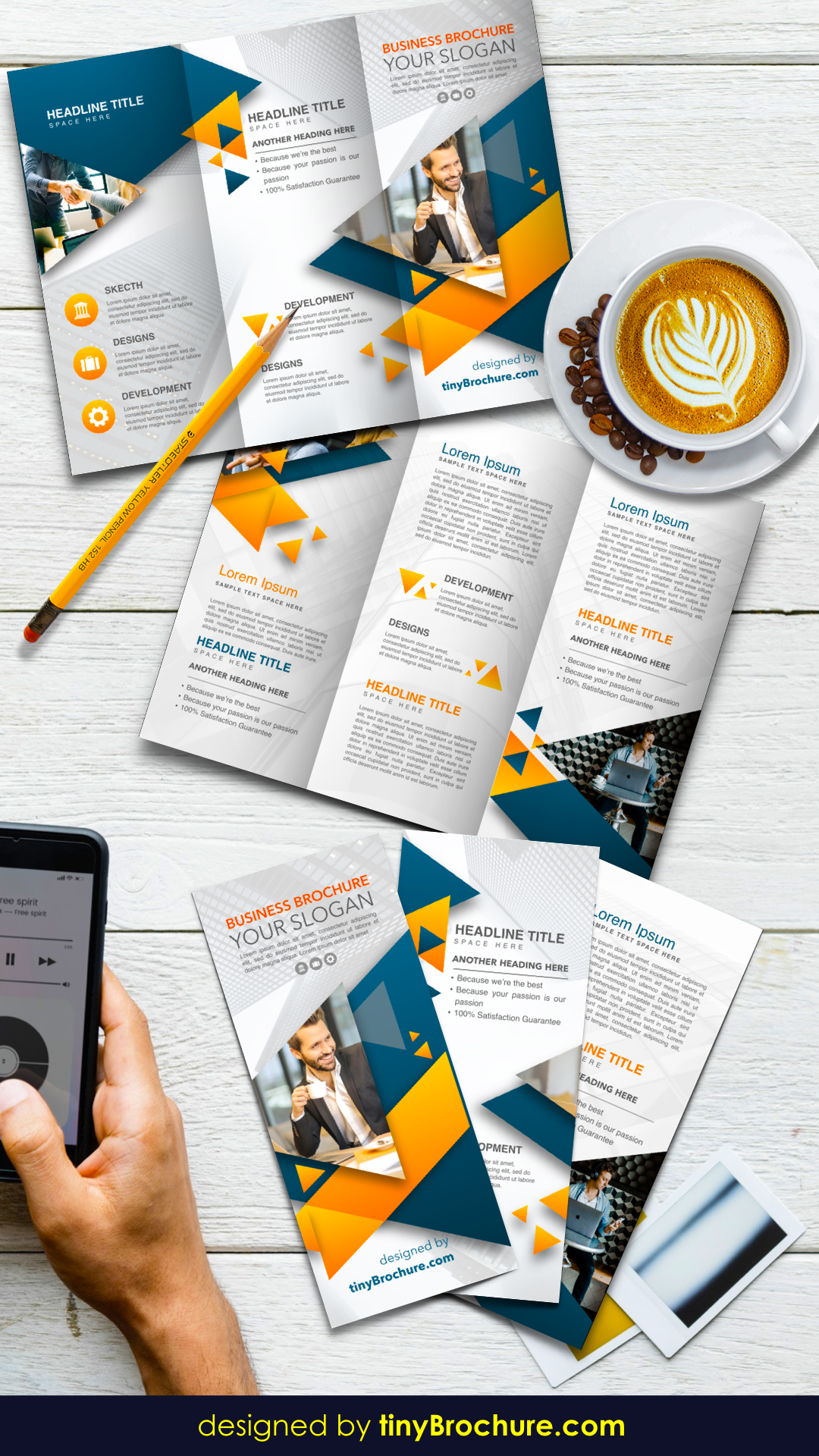 Pin By Minuteman Press Redmond On Tri Fold Brochures Brochure Design Template Trifold Brochure Template Brochure Design