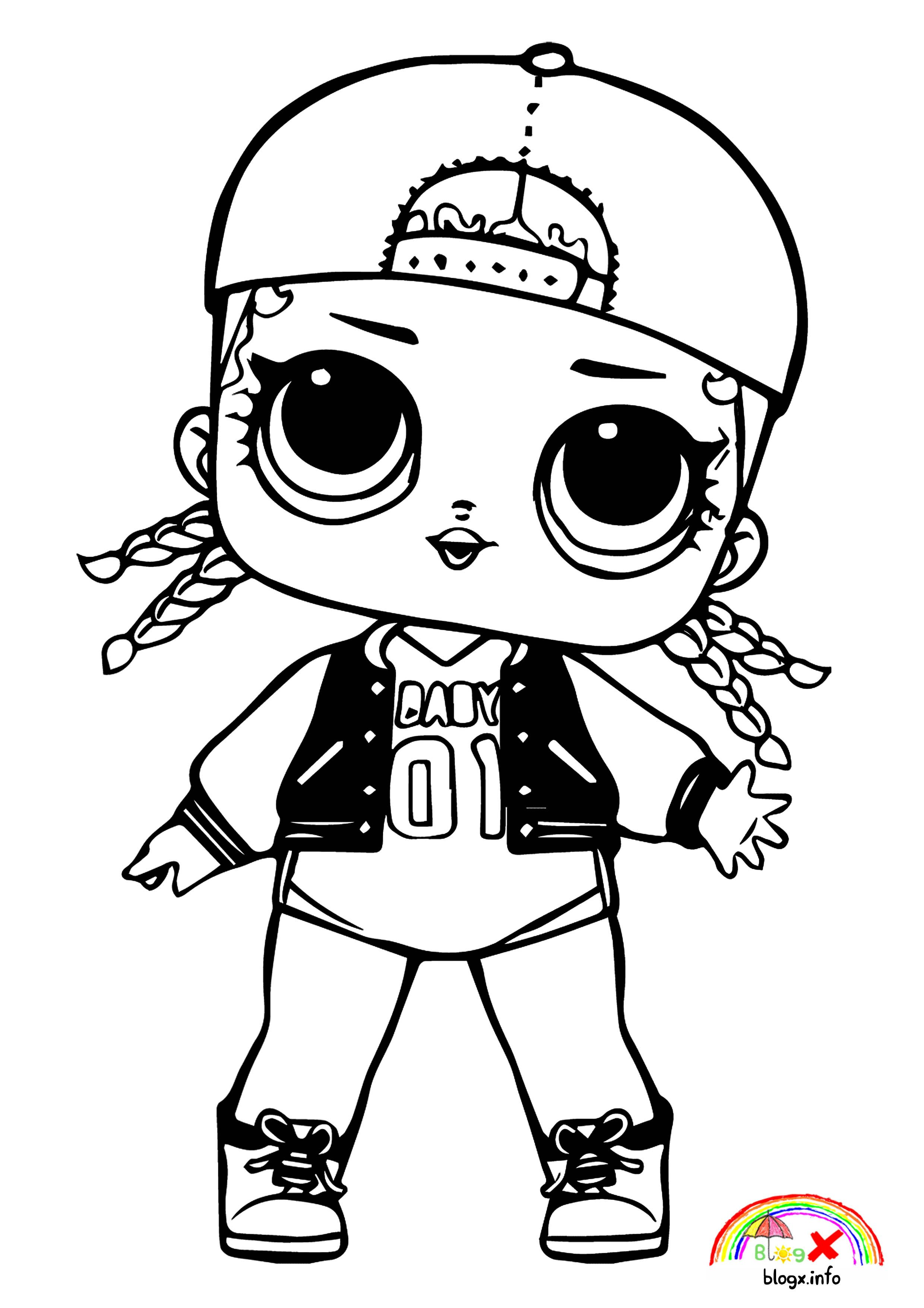 Lol Dolls Special Music Series Coloring Page Cool Coloring Pages Lol Dolls Coloring Books