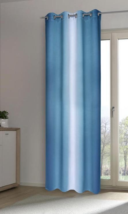 Osenvorhang Blau Streifen Verschiedene Farben Lichtundurchlassiger Vorhang Verdunkelungsvorhang Vorhange Verdunkelungsvorhang Zuhause