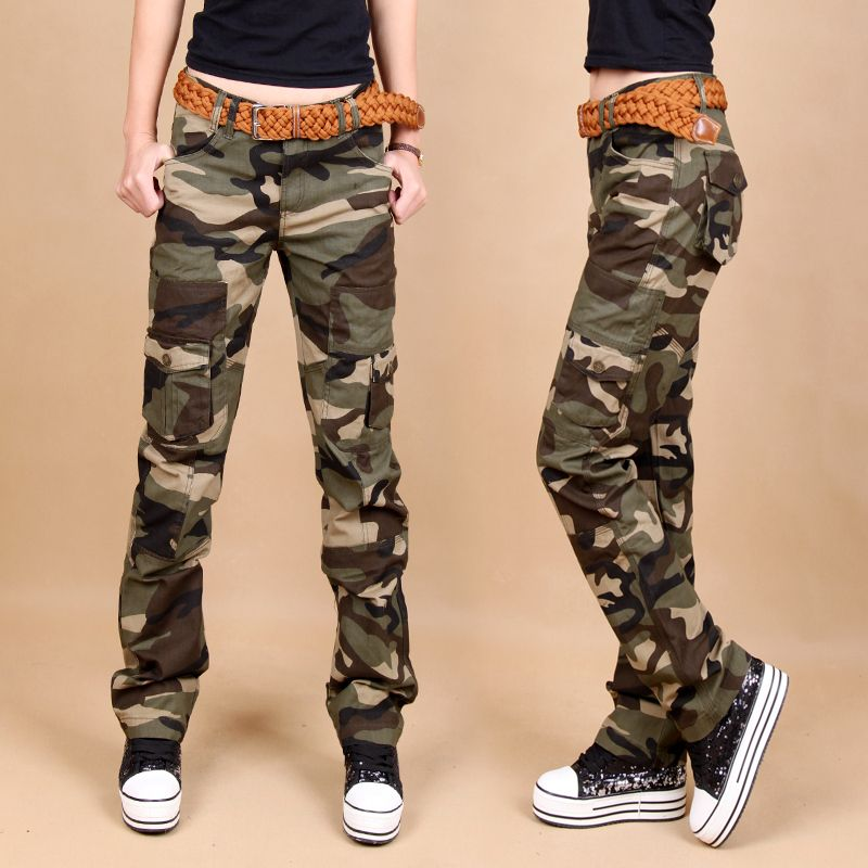 Match Women's Camo Cargo s Sports Outdoors Military #2036M http ...