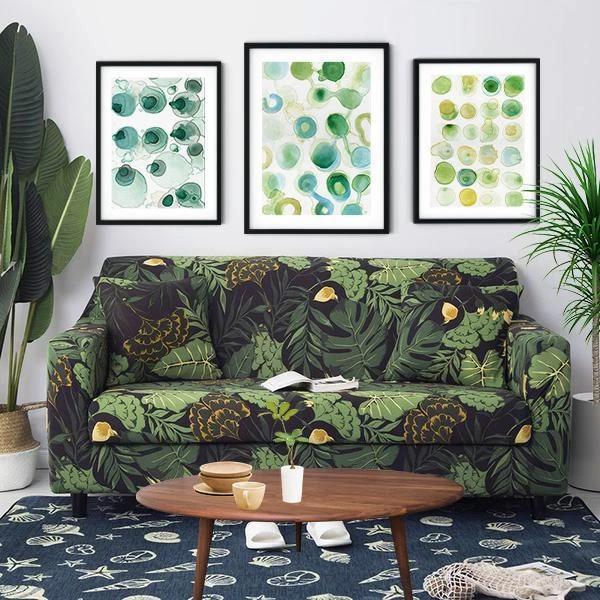 Green Tropical Garden Sofa Cover In 2020 High Quality Sofas Sofa Covers Garden Sofa