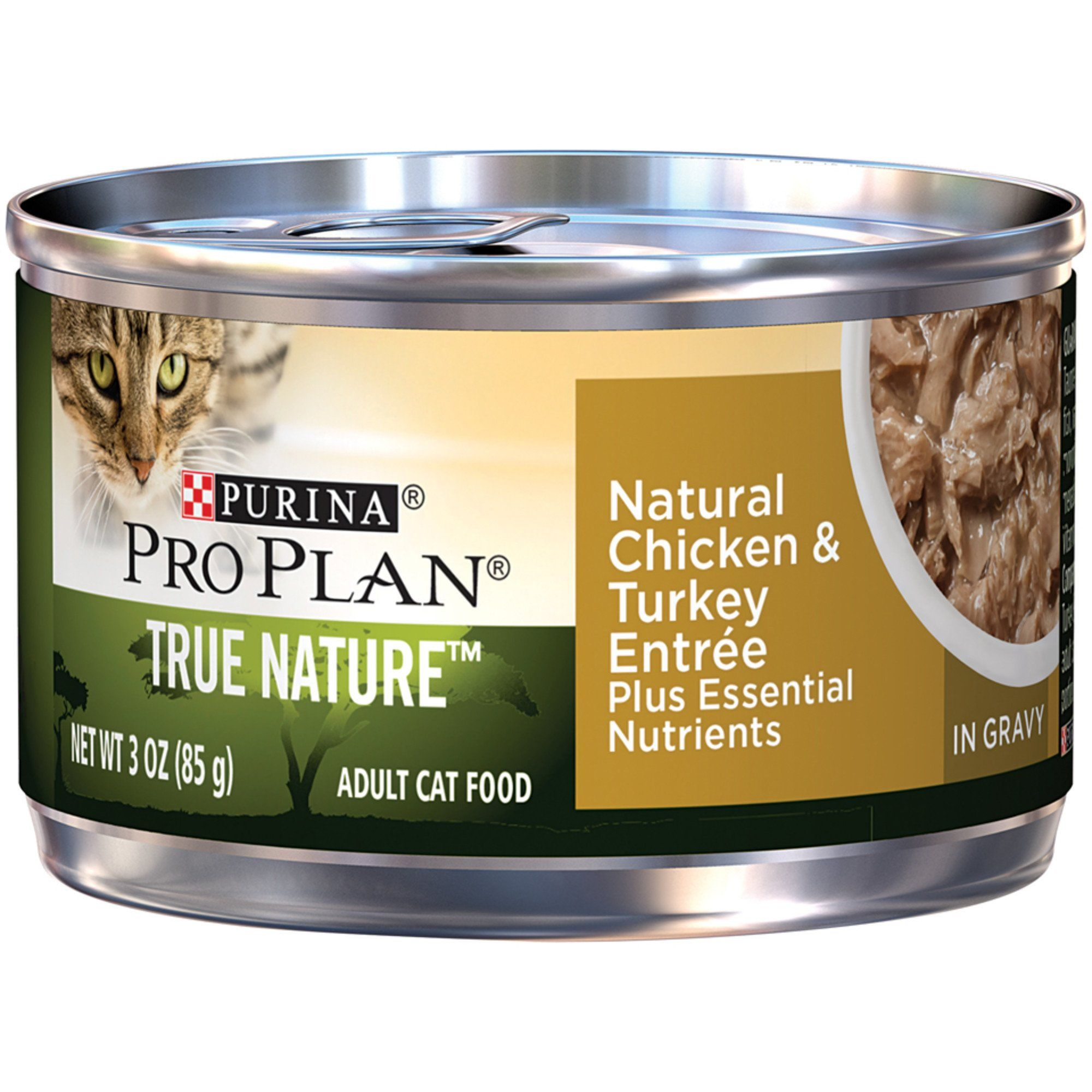 Purina Pro Plan True Nature Chicken Turkey Adult Canned Cat Food