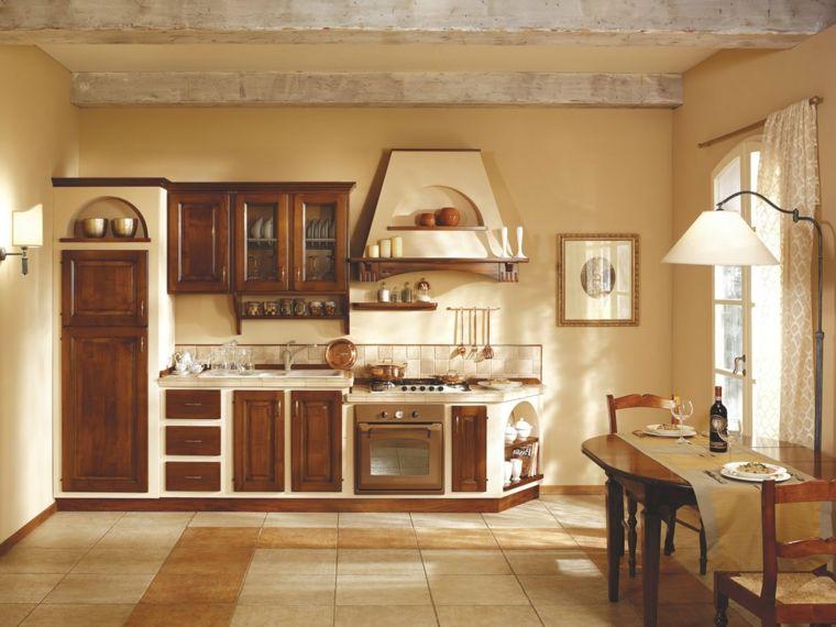 Cucina Rustica In Muratura Bianca.Idea Cucine In Muratura Rustiche Lineare Struttura Bianca