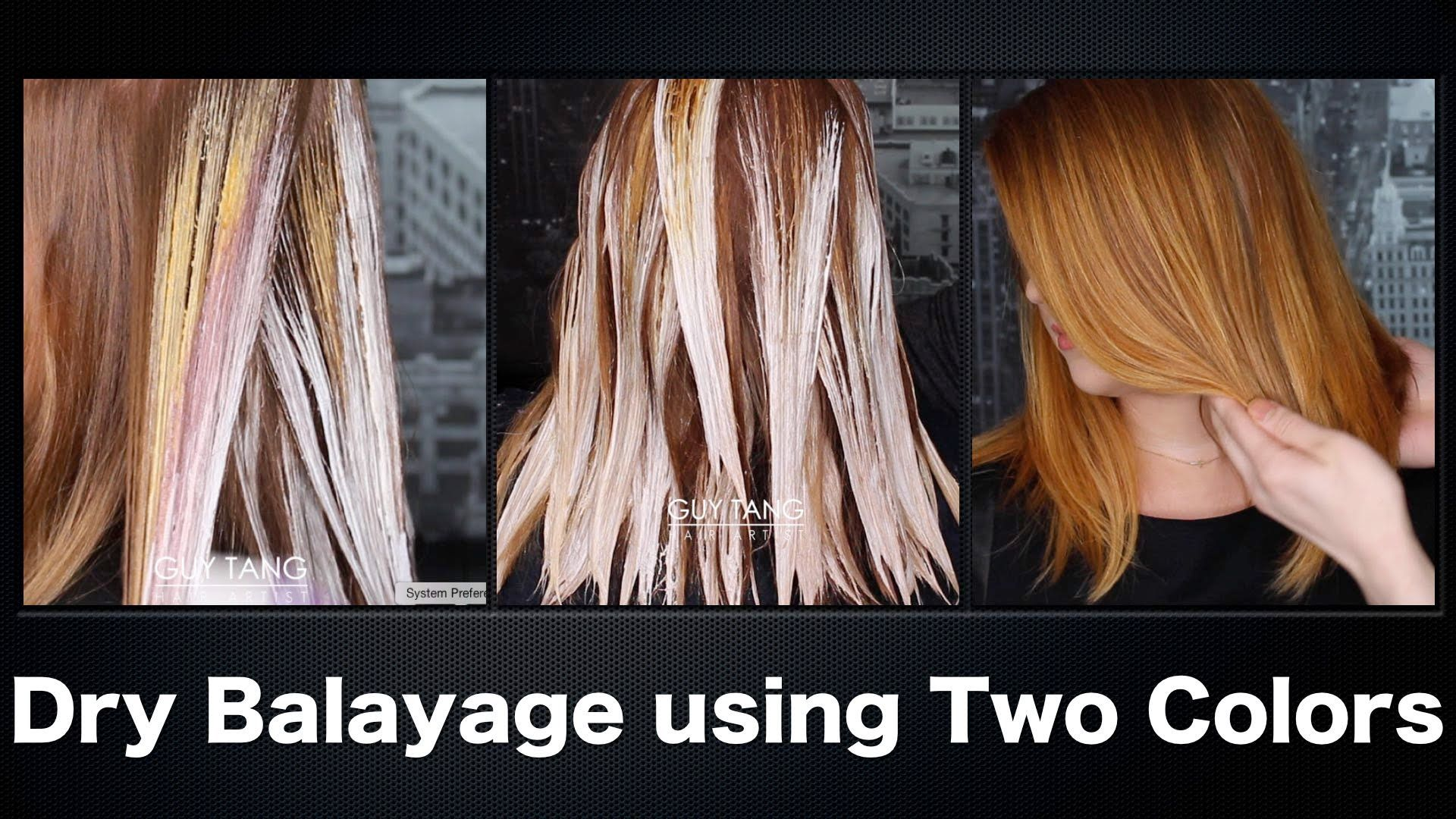 Diy Balayage Twist Technique