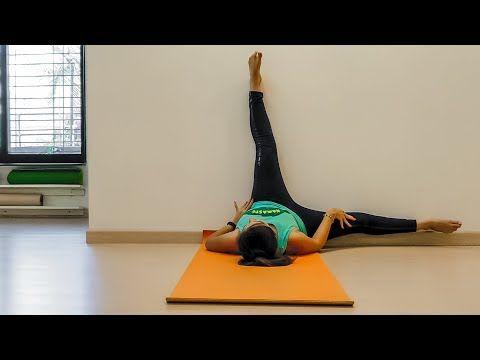 viparita karani  6 everyday wall exercises for all  yoga