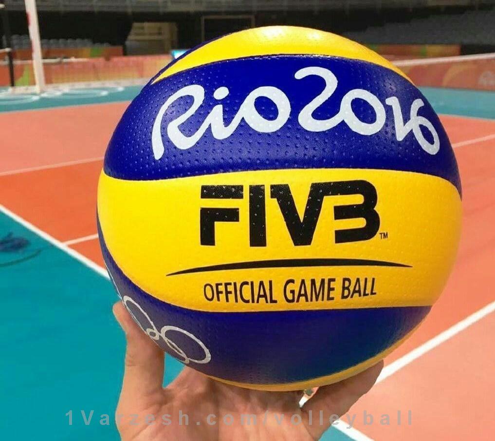 تصویری از توپ والیبال المپیک http//1vz.ir/134795 توپ