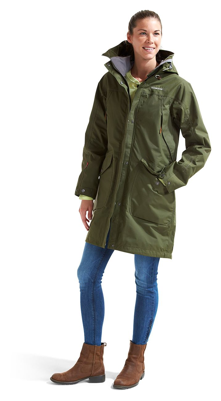 b7c27a7d2a3 Didriksons, Thelma Women's Coat | Style | Coats for women, Coat, Jackets