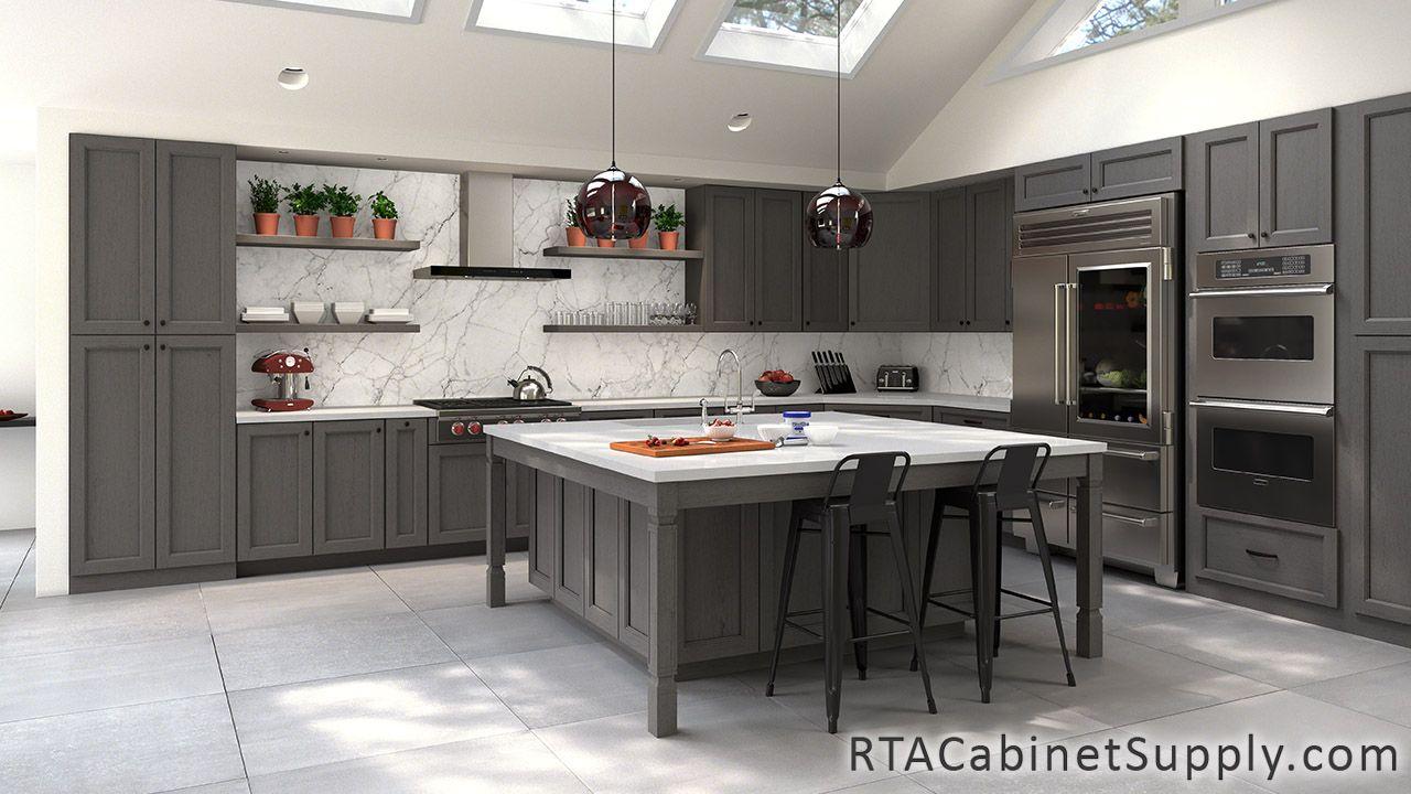Bristol Grey RTA - Kitchen Cabinet Sets | kitchens | Grey ...