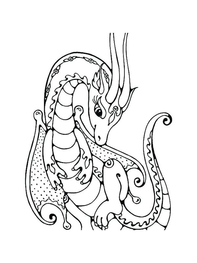 Fire Breathing Dragon Coloring Page The Following Is Our Dragon Coloring Page Collection You Are F Dragon Coloring Page Free Coloring Pages Coloring Pictures