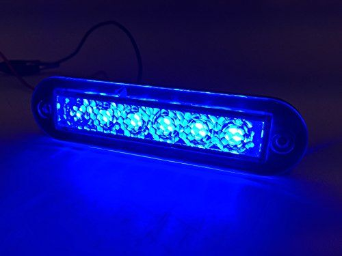 Marine Boat Blue Led Strip Light 14lm Flush Mount 12v 12w Ip67 4500k 39x09 Learn More By Visiting The Imag Marine Led Lights Led Light Bulbs Led Boat Lights