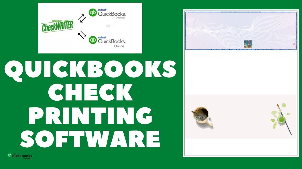 1 Quickbooks Check Printing Software Print In 3 Steps I Think It S Very Good It S Excellent Service I Reco In 2020 Printing Software Writing Software Check Mail