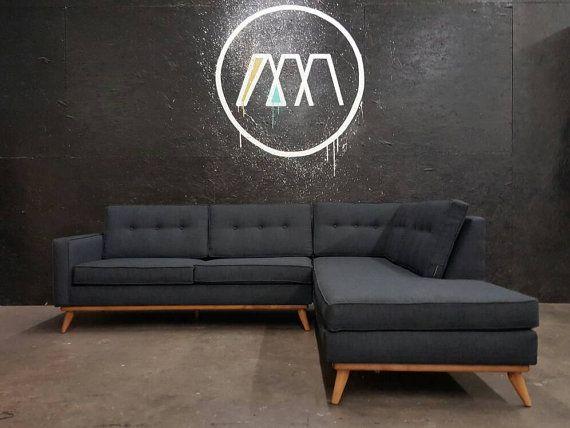 mid century danish modern sectional chaise sofa chaise sofa mid rh pinterest com t&d furniture commercial t d furniture mesa az