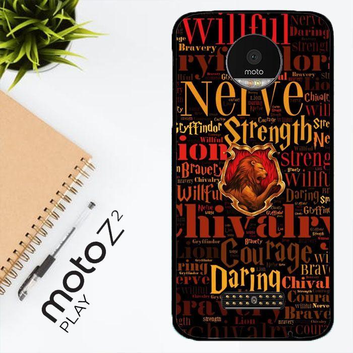 Harry Potter Gryffindor Quotes Y1674 Motorola Moto Z2 Play Case