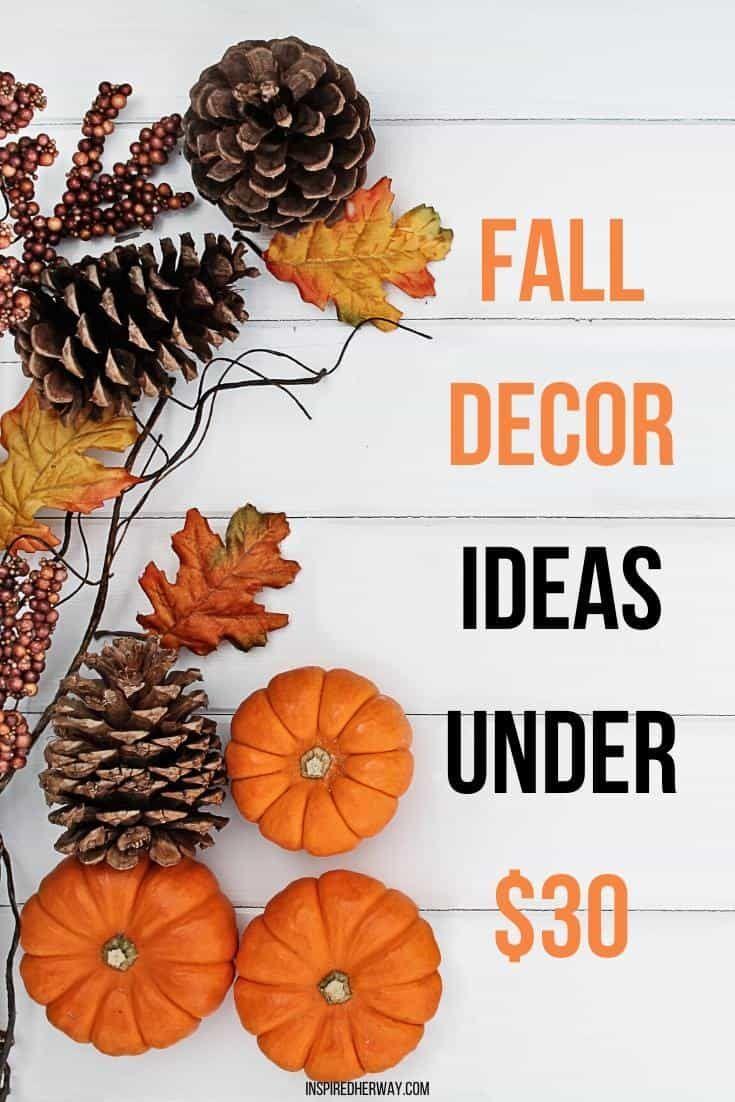 Fall Home Decor Ideas Under 30 In 2020 Fall Home Decor Autumn Home Fall Decor