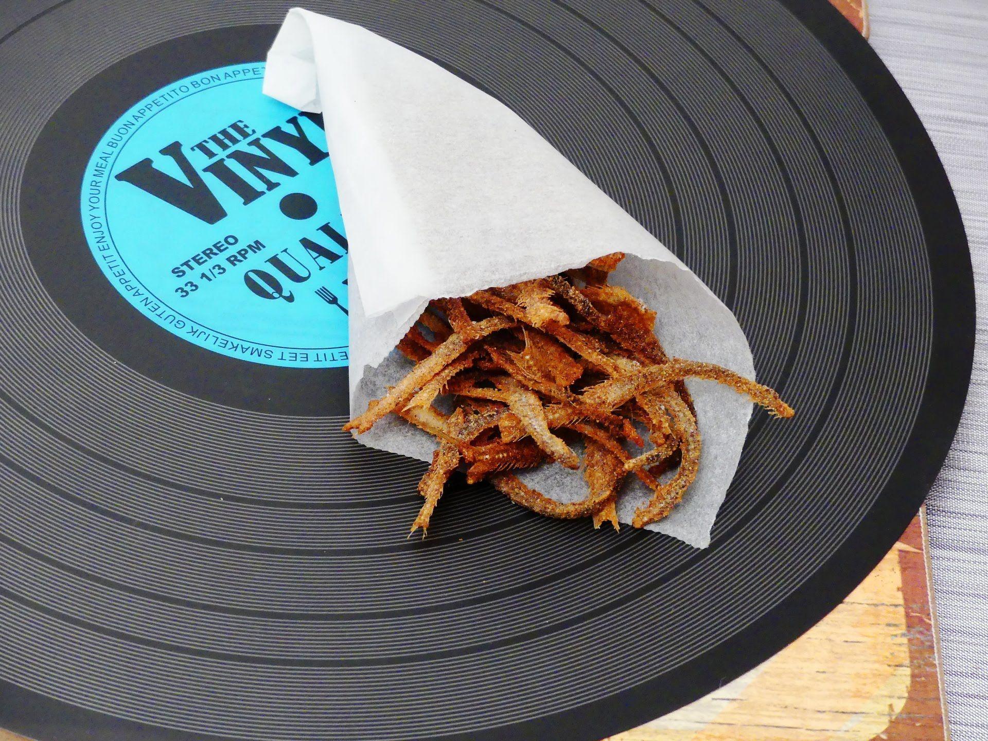 #Raspas #Chips de #Boquerones